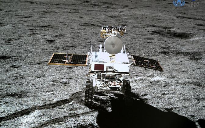 Hiina kosmosemisiooni fotod Kuu tagaküljest.