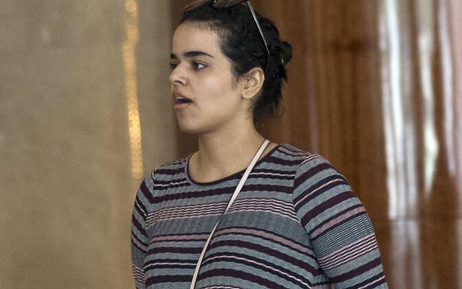 Rahaf Mohammed al-Qunun Bangkokis.