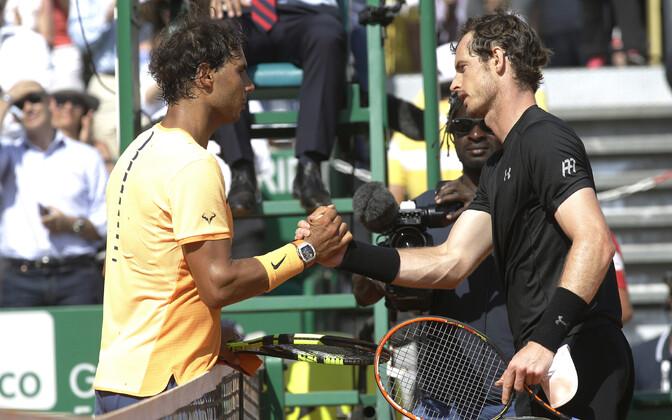 Rafael Nadal ja Andy Murray 2016. aastal