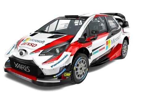 Toyota rallimasin hooajaks 2019