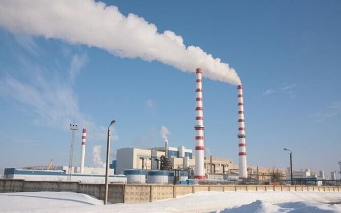 Балтийская электростанция в Нарве.