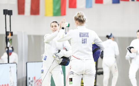 Eesti epeenaiskond Tallinna Mõõga võistkondlikul turniiril