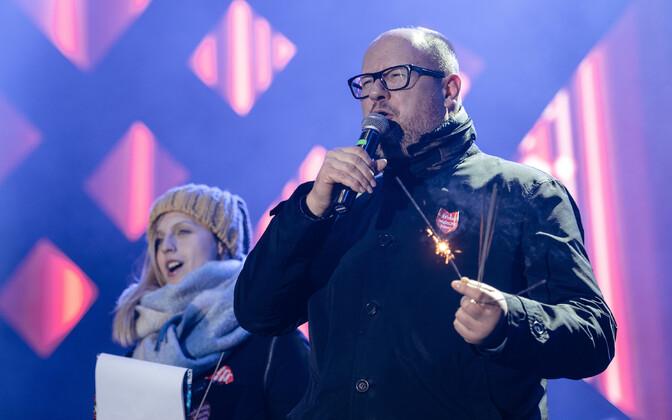 Gdański linnapea Paweł Adamowicz.