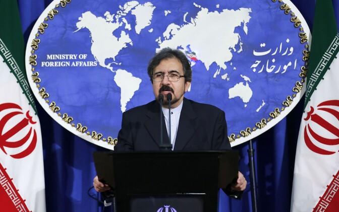 Iraani välisministeeriumi pressiesindaja Bahram Ghasemi.
