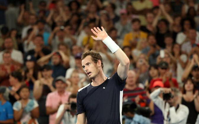 Andy Murray Austraalia lahtistel