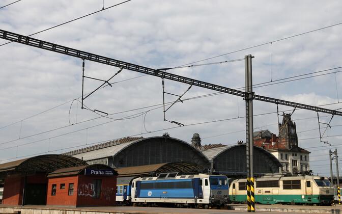 Praha raudteejaam.