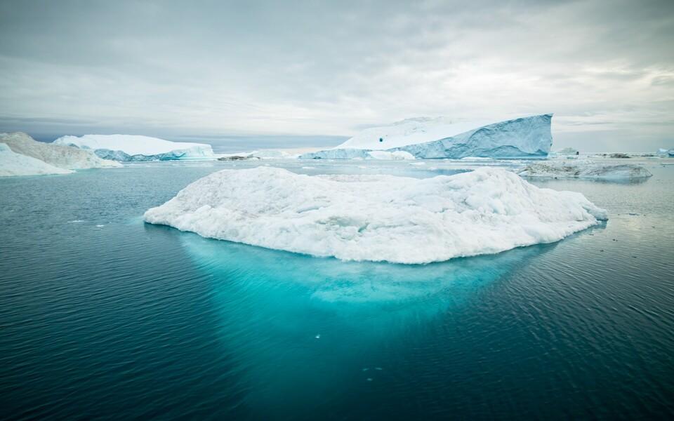 Jäämägi Gröönimaa lähistel.