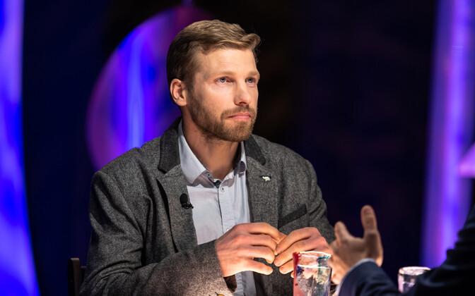 Polaaruurija ja -rändur Timo Palo.