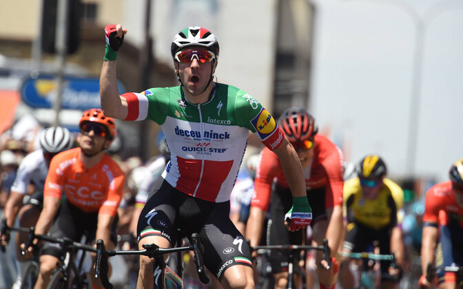 Elia Vivani võitis Tour Down Underi avaetapi