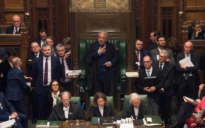 Нижняя палата британского парламента