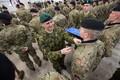Tapal teenivad Taani sõdurid said kätte missioonimedalid.