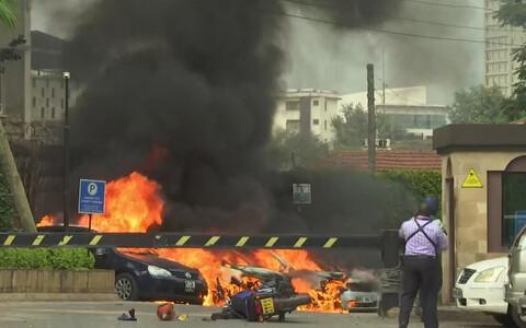 Взрыв в Найроби 15 января.