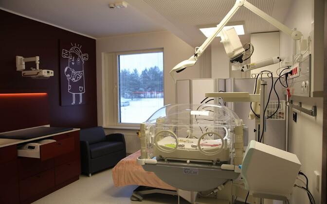 Новые семейные палаты интенсивной терапии в Таллиннской детской больнице