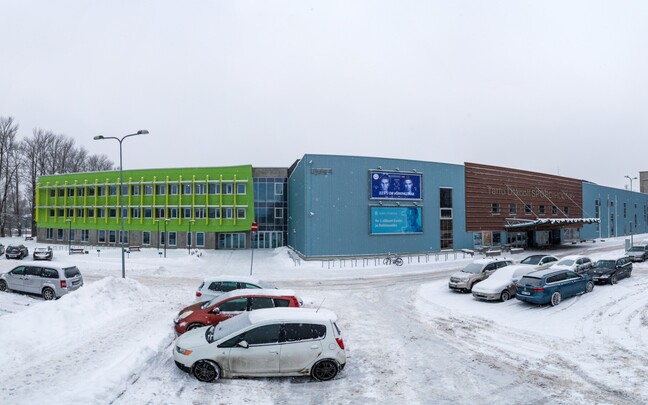 Новый спорткомплекс Тартуского университета.