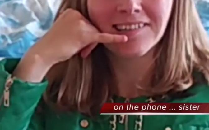 "Kuvatõmmis Netti Nüganeni videost ""i'm rules"" (2016)."