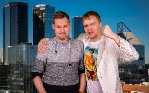 Margus Kamlat ja Bert Järvet