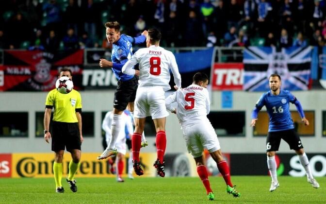 В октябре 2016 года сборная Эстонии победила Гибралтар в Таллинне со счетом 4:0.