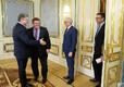 Kohtumine Ukraina presidendi Petro Porošenkoga.
