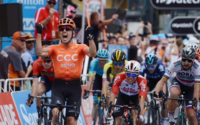 Tour Down Underi teisel etapil oli võidukas Patrick Bevin