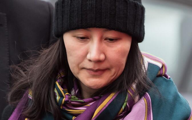 Meng Wanzhou.