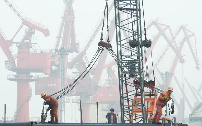 Lianyungangi sadam Hiinas.