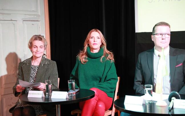 Roheliste erakonna pressikonverents