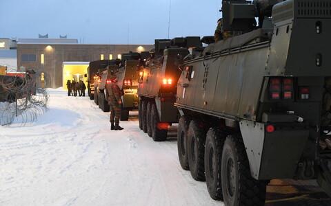Военный контингент вооруженных сил Бельгии.