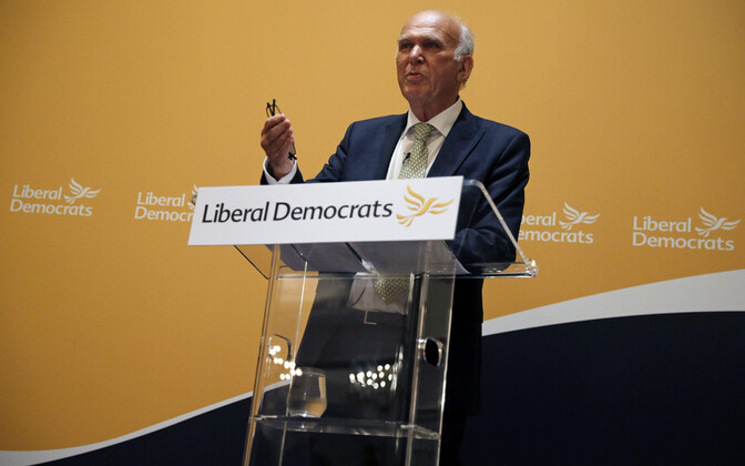 Briti liberaaldemokraatide juht Vince Cable.