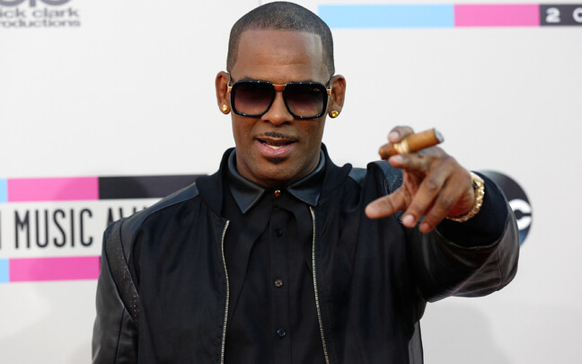 R. Kelly 41. Ameerika muusikaauhindade jagamisel Los Angeleses, Californias 2013. aasta novembris.