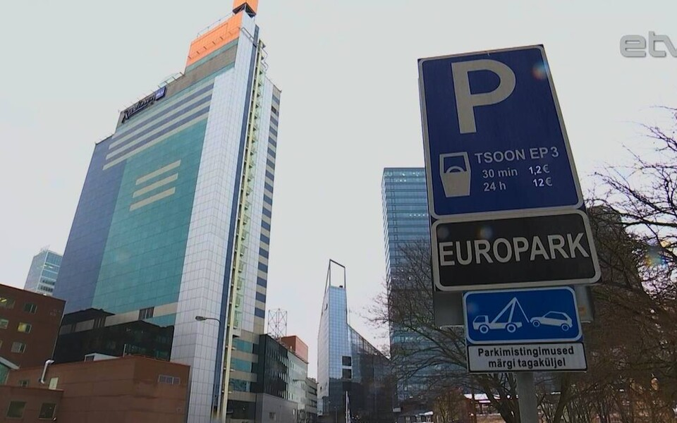 Цены на парковках фирмы EuroPark диктует спрос.