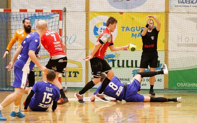 Võitlust oli Põlva Serviti ja Zaporožje ZTR-i vahelises Balti liiga mängus piisavalt.