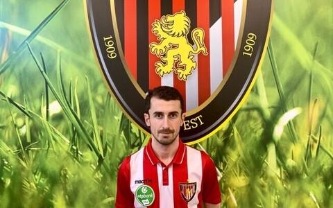 Zakaria Beglarišvili uue koduklubi Honvedi särgis.