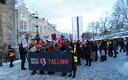Estonia's first Women's March was held in Tallinn on Saturday. 19 January 2019.