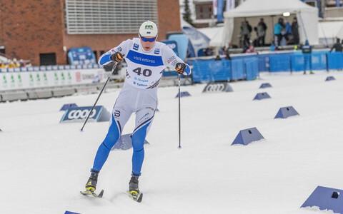 Карел Таммъярв второй день подряд попал в число 20 лучших.