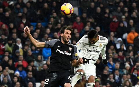 Paremal on Madridi Reali avavärava autor Casemiro