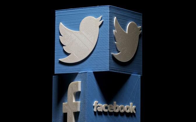 Twitter ja Facebook.
