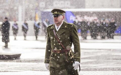 Command Sgt. Maj. Siim Saliste.