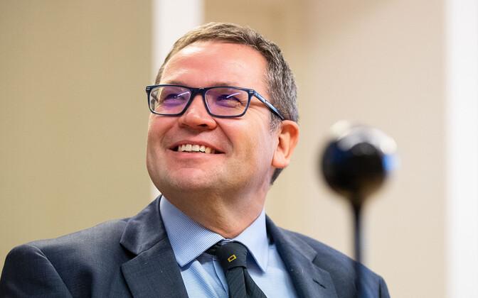 Chief Justice Villu Kõve.