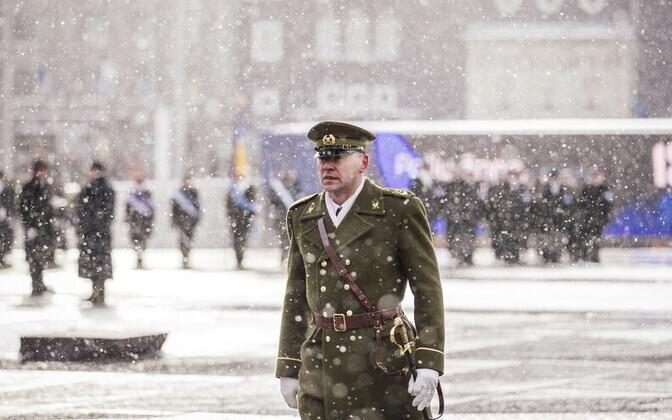 Eesti kaitseväe ülemveebel Siim Saliste.