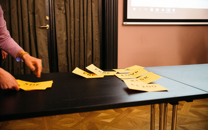 Liisuheitmine Eesti Vabariigi Valimiskomisjonis