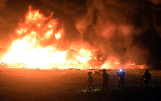 Naftatoru plahvatus Mehhikos.