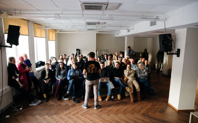 Собрание на тему Eesti laulu в Доме новостей ERR.
