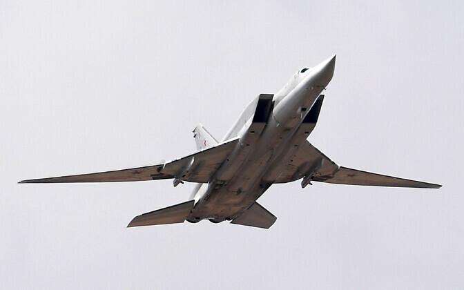 Pommituslennuk Tu-22M3.