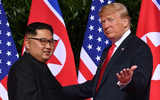Nn varjatud suhtluskanal sillutas ka tee Donald Trumpi ja Kim Jong-uni ajaloolisele kohtumisele Singapuris.