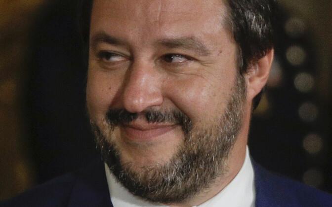 Itaalia asepeaministrid, M5S-i juht Luigi Di Maio (vasakul) ja Liiga juht Matteo Salvini.