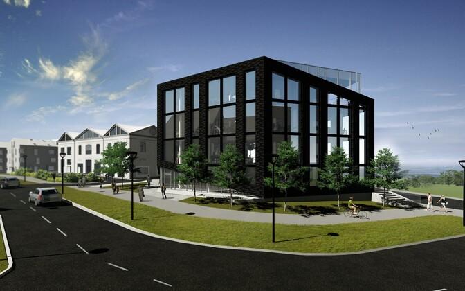 Эскизный проект нового офисного комплекса в Каламая.