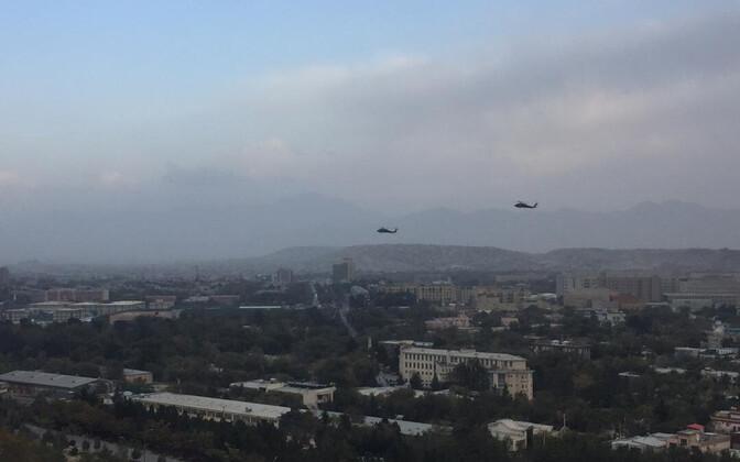 Black Hawki kopterid Afganistani kohal