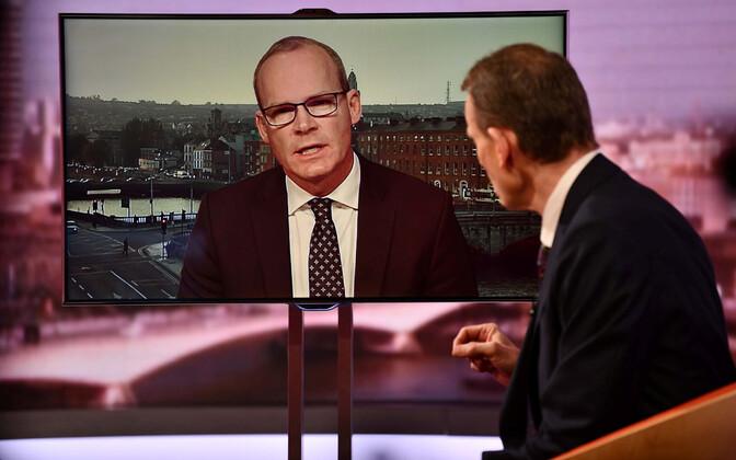 Iiri Vabariigi välisminister Simon Coveney BBC eetris.