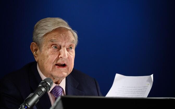 Ungaris sündinud riskikapitalist ja filantroop George Soros.