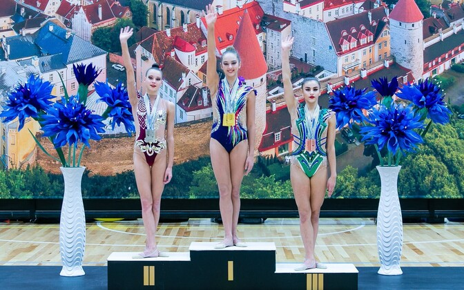Vasakult: Adelina Beljajeva, Melany Keler ja Narine Grgorjan